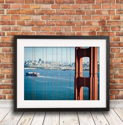 San Francisco Golden Gate Bridge, travel photography