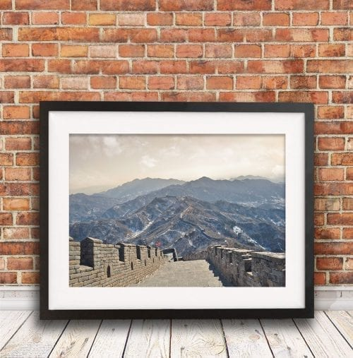 Great Wall of China travel photography