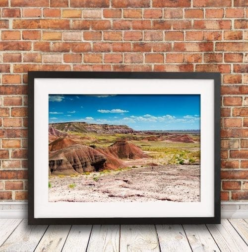 Painted Desert in Arizona, America travel photography
