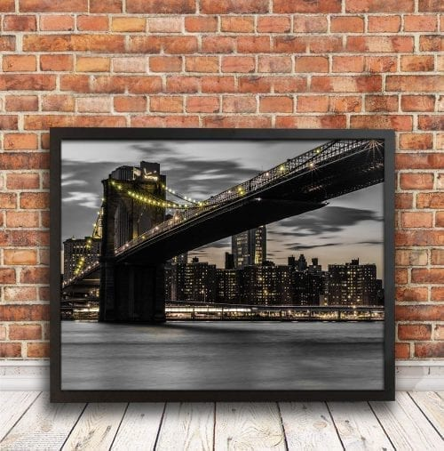 Brooklyn Bridge, America travel photography
