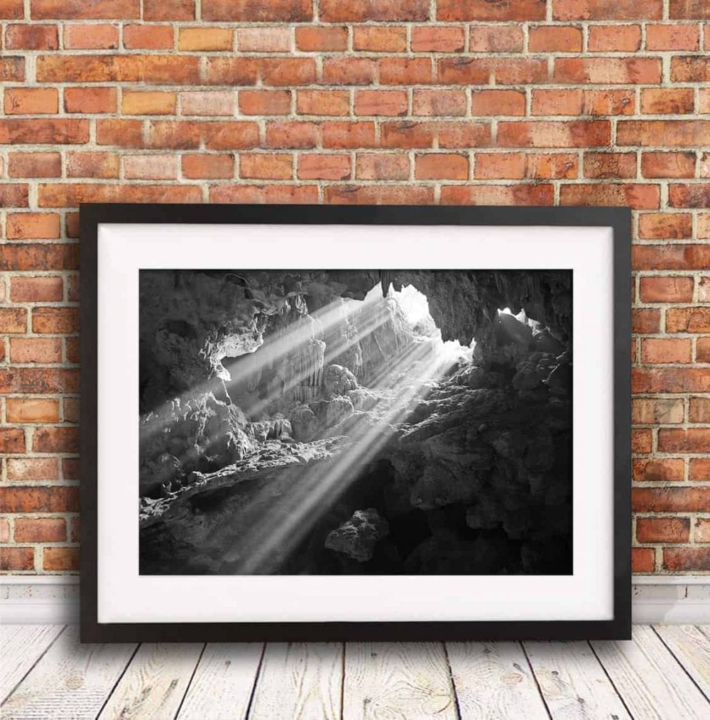 Cave Light , travel photography