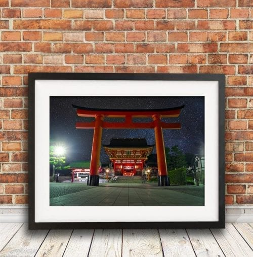 Fushimi Inari Shrine in Kyoto Travel Photography