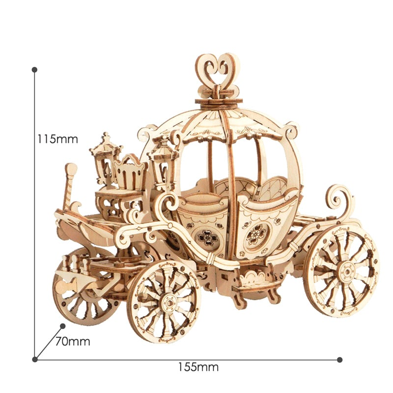 Carriage 3D Wooden Puzzle
