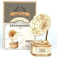 Gramophone 3D Wooden Puzzle 03
