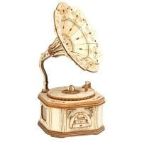 Gramophone 3D Wooden Puzzle