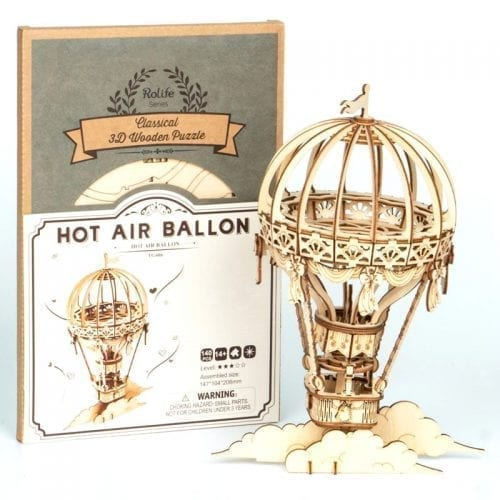 Hot Air Balloon 3D Wooden Puzzle