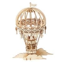 Hot Air Balloon 3D Wood Puzzle