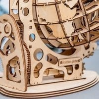Travel Globe 3D Wood Puzzle 03