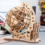 Travel Globe 3D Wooden Puzzle