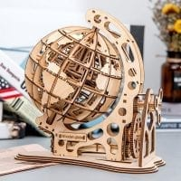 Travel Globe 3D Wood Puzzle 06